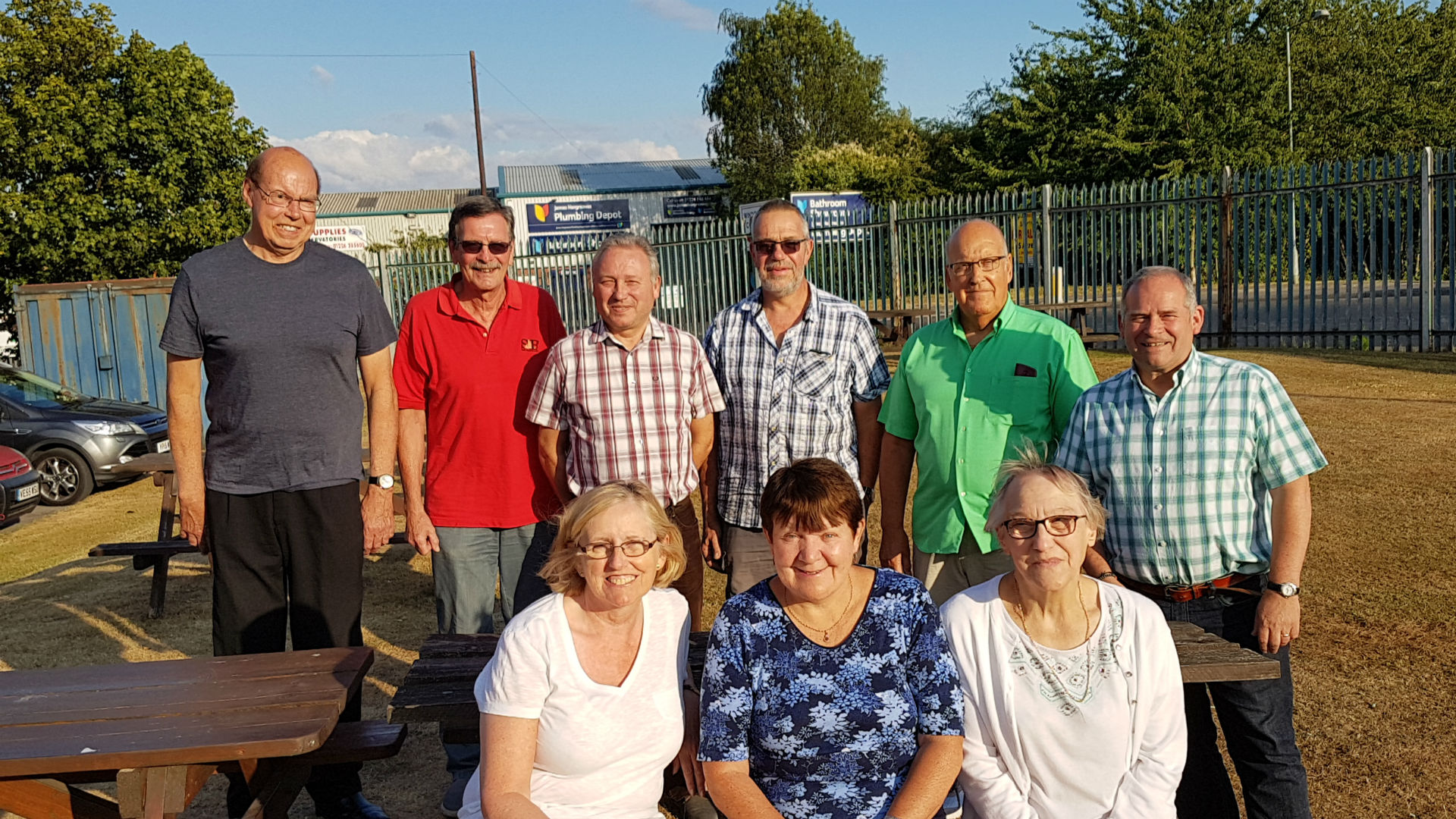 Stairfoot station team
