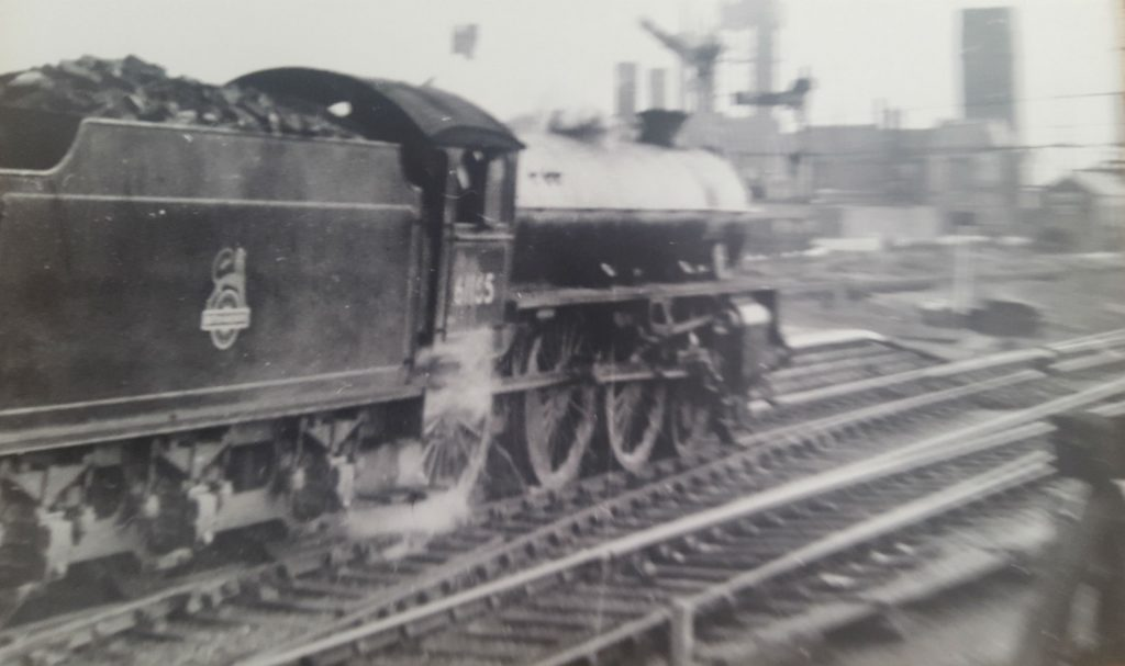 B1 Loco leaving Stairfoot to Doncaster mid 1950's