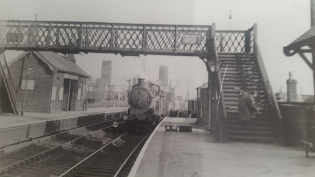 J11 on goods coming through Stairfoot mid 1950's