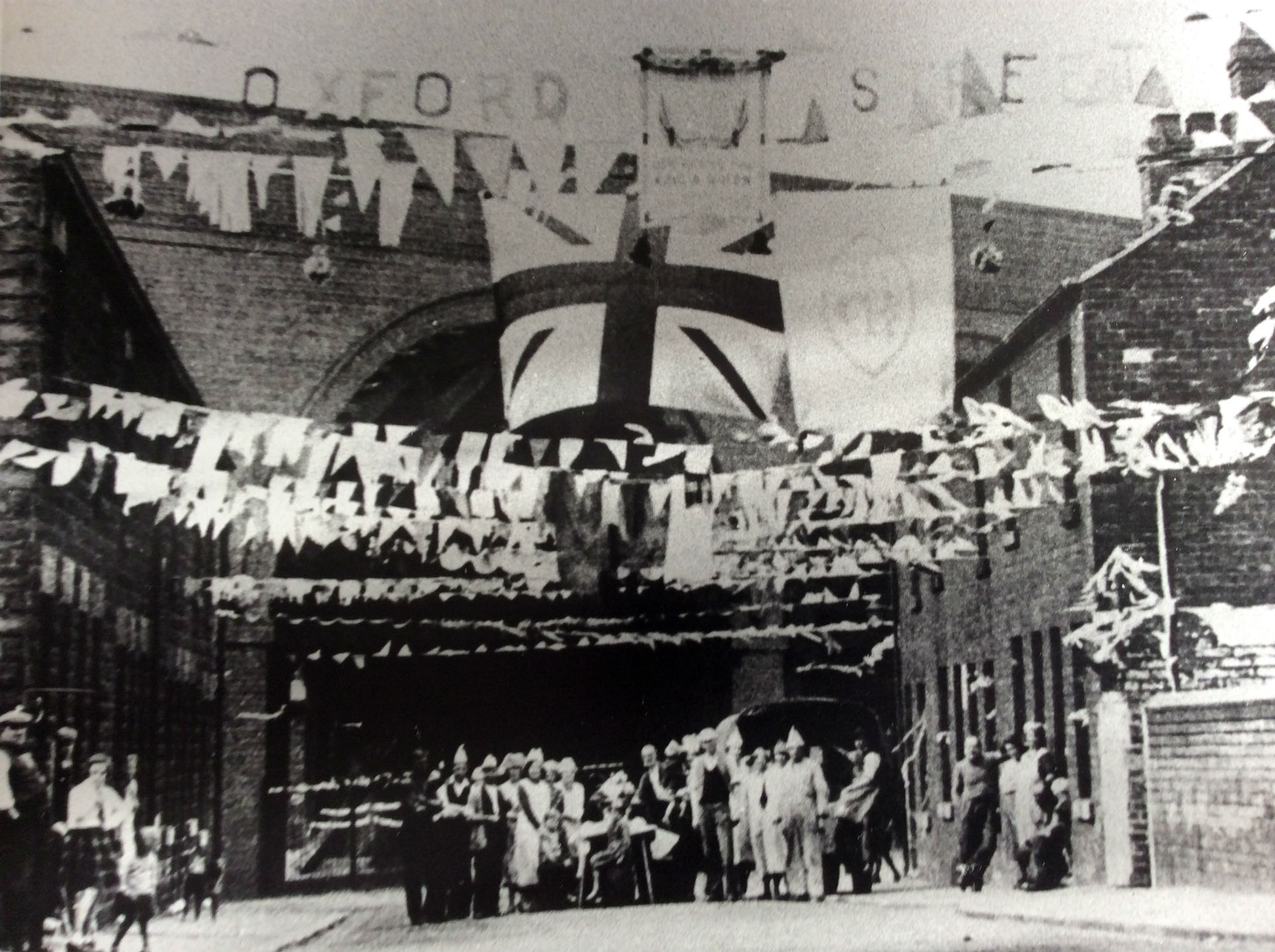 Oxford St Stairfoot VE Day 1945