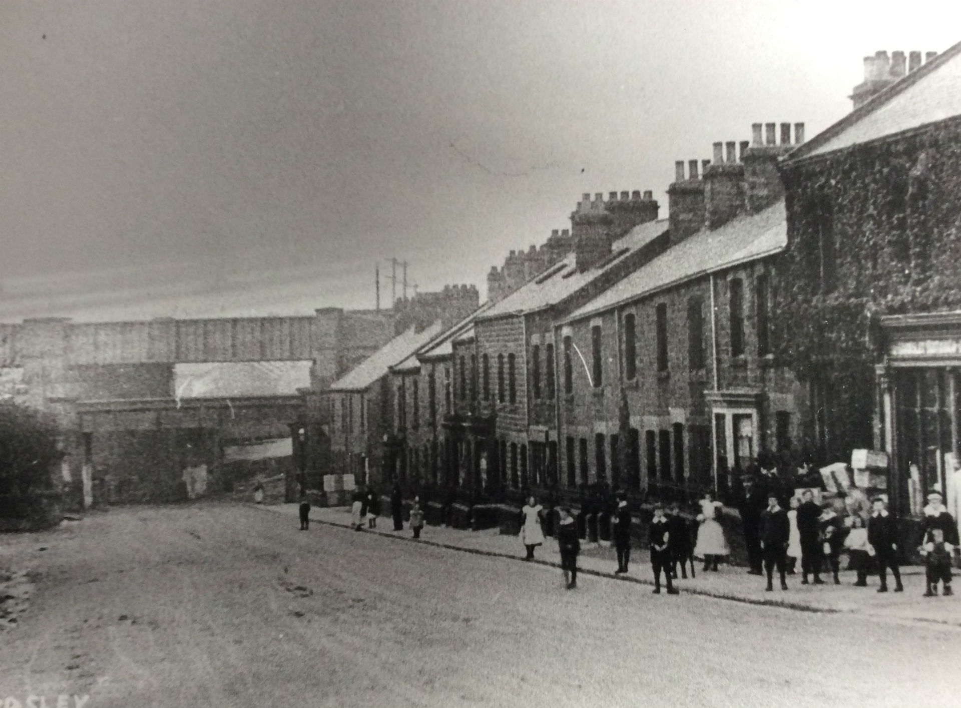 Ardsley Hill looking to Stairfoot early 1900