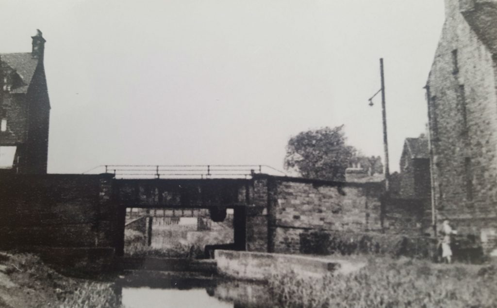 A635 Road Bridge over Canal at Stairfoot