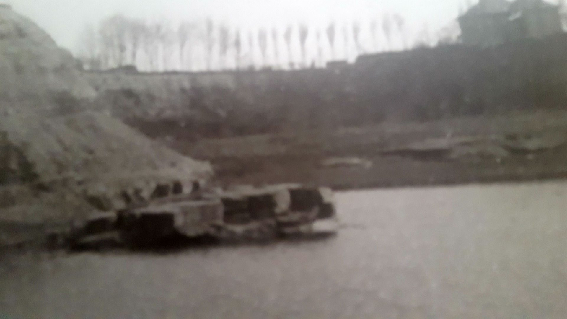 Stairfoot Brickworks flooded quarry