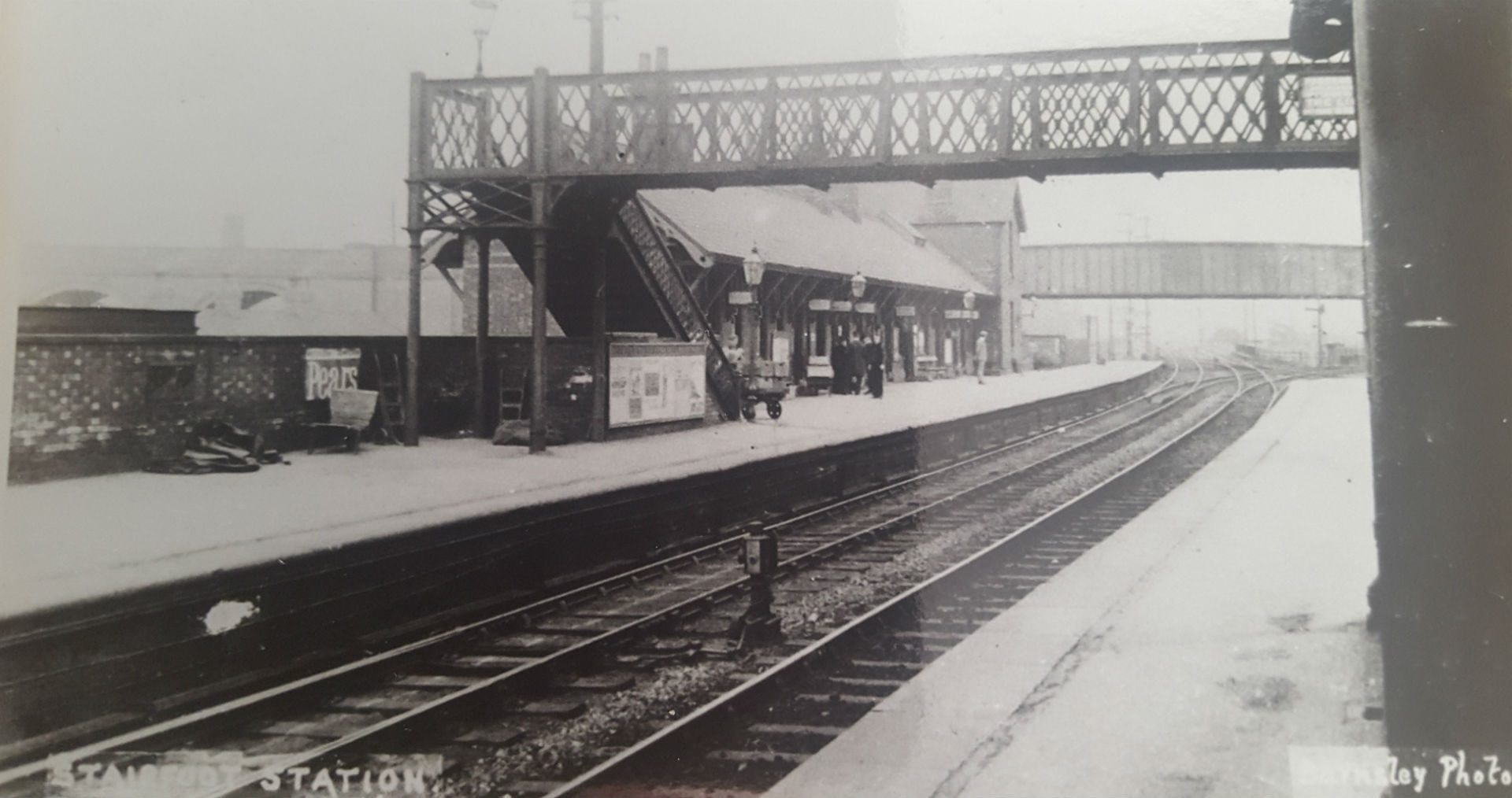Stairfoot Station 1912 to 1913