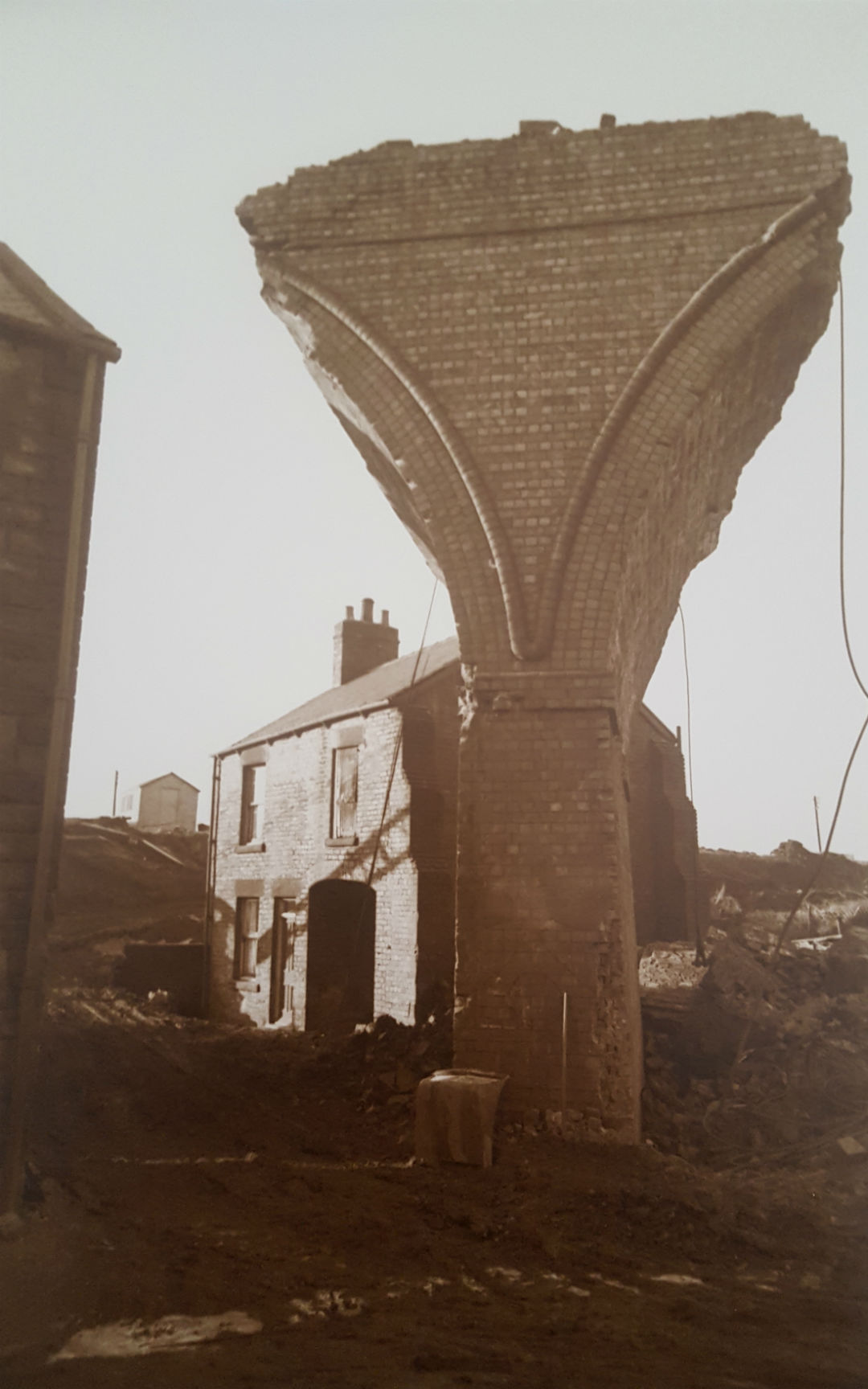 Demolition of Stairfoot Viaduct 1