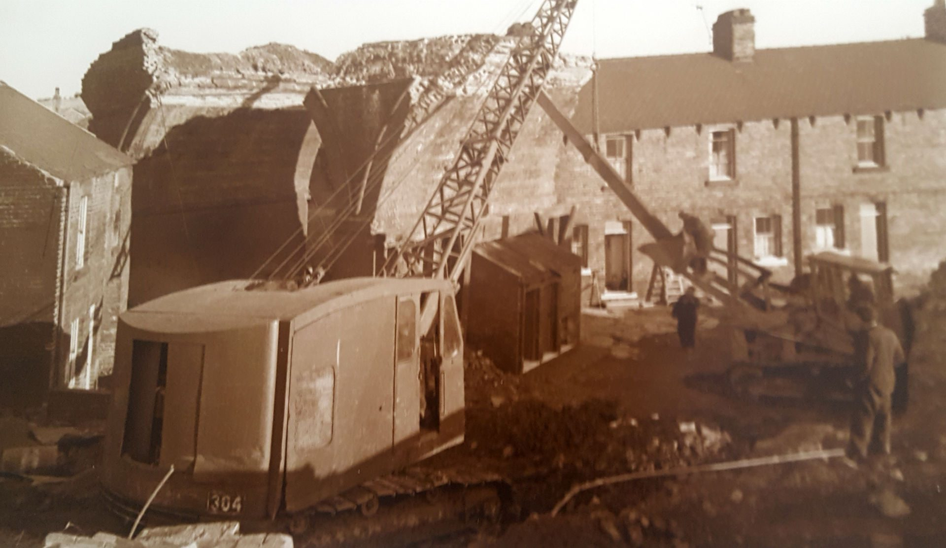 Demolition of Stairfoot Viaduct 2